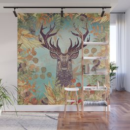 THE FRIENDLY STAG Wall Mural