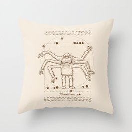 Kamajituvien Throw Pillow