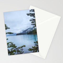 Maligne Lake  | Landscape Photography | Travel Alberta | Nature Stationery Cards