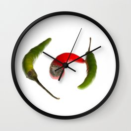 Odd Chilli Out Wall Clock