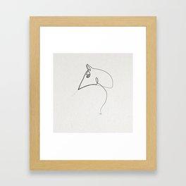 Online Horse 1812 Framed Art Print