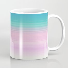 Miami Vice Pastel Ombre Coffee Mug