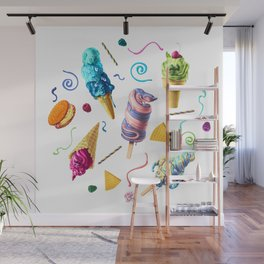 All Mutts Summer Flavours Wall Mural