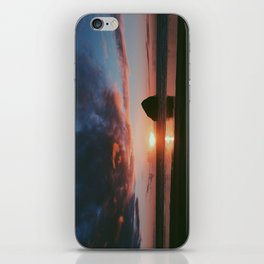 Pacific City Sunset iPhone Skin