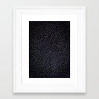 furry Framed Art Prints featuring Furry Wood by Ben Bauchau