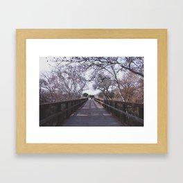 The Bridge Framed Art Print
