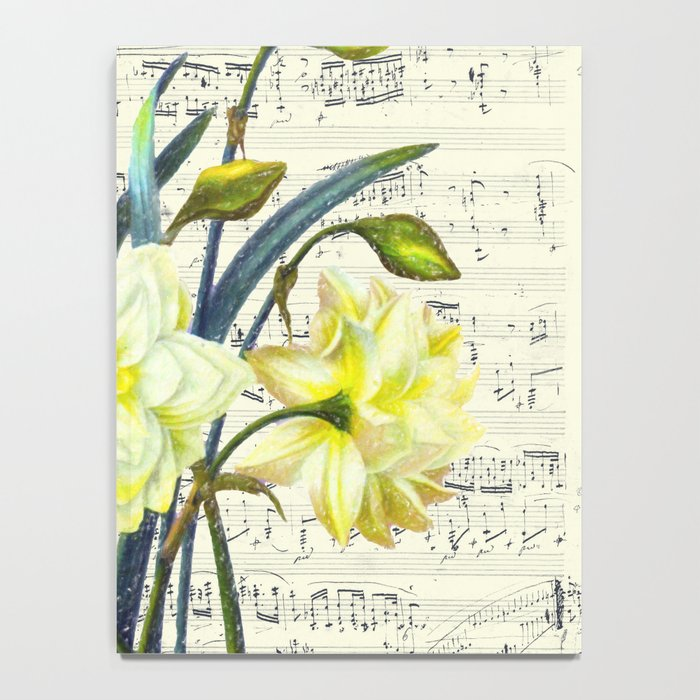 Daffodil Spring Song Notebook