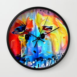 Squeal For Me My Pleasure Piggy Wall Clock