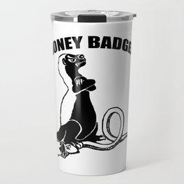 Honey badger Travel Mug