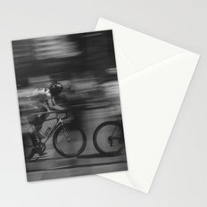 cycling race Stationery Cards