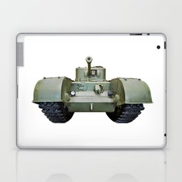 British heavy infantry tank Churchill Laptop & iPad Skin
