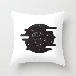 Beer constelation Throw Pillow