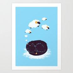 sweet dream Art Print