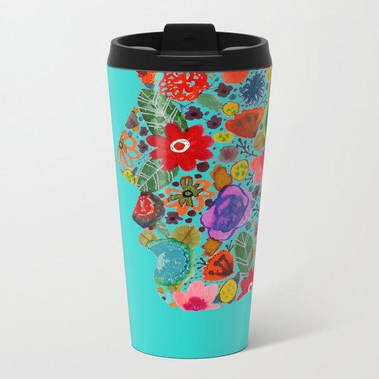 dream on, little flower Metal Travel Mug