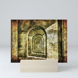 Ancient Arches Mini Art Print