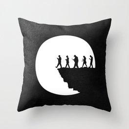 Subservient Throw Pillow