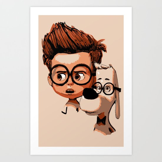 Mr. Peabody & Sherman Art Print