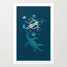 Cryptosoaking Art Print