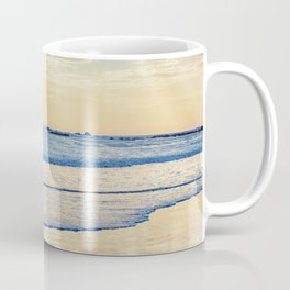 A Message From Above God Rays on Cayucos Beach Coffee Mug