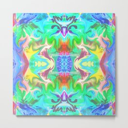 156 - colourful abstract design Metal Print