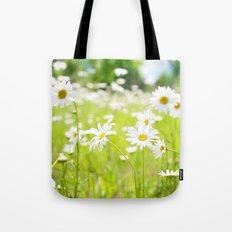 Daisy Meadow Tote Bag