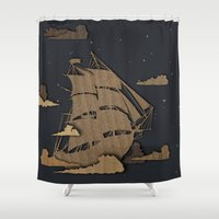 sail Shower Curtains featuring sail by Chelsea Gass