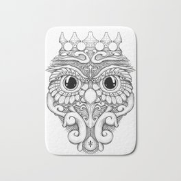 Rococo Owl Bath Mat