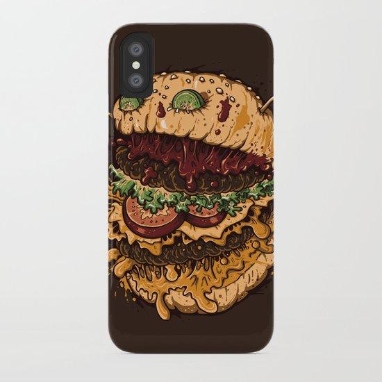 Monster Burger iPhone Case
