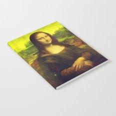 Mona Lisa's Haze (yellow) Notebook