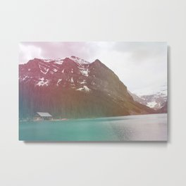 Dreamy Lake Louise Metal Print