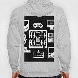 Geek Gamer Pattern Hoody