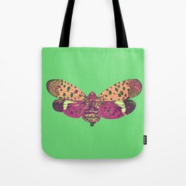Spotted Lantern Fly Tote Bag