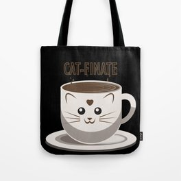 Time to Cat-finate Tote Bag
