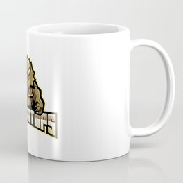 Triceratops Esport Mascot Logo Design Coffee Mug