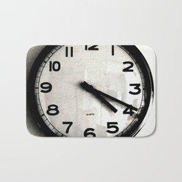 Four Nineteen Clock Bath Mat