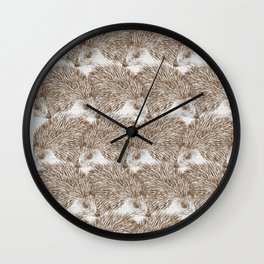Hedgehog Cluster Wall Clock