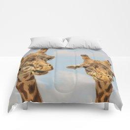 Giraffe Joe Comforters