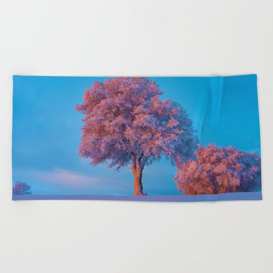 Stay A While Beach Towel