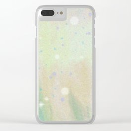 There are many things in life that become different if you take a long look at them. Clear iPhone Case