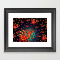 Sea life Framed Art Print