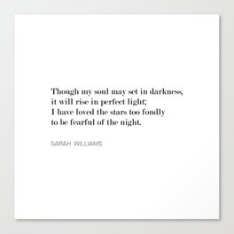 The Old Astronomer Canvas Print