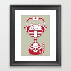 Scat 2 Framed Art Print