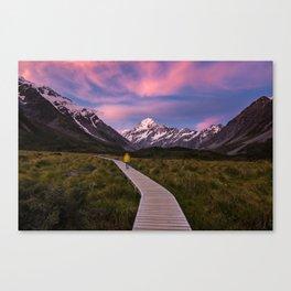 Pink Skies Canvas Print
