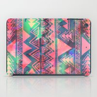 techno iPad Cases featuring Techno Native by Schatzi Brown