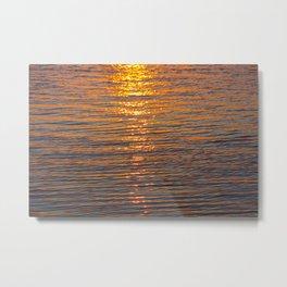 Sunflection Metal Print