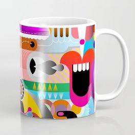 Abstract art illustration - Geometric Abstract Modern Art Designs Coffee Mug