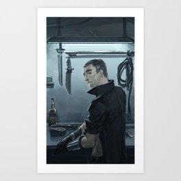 Haytham Kenway Art Print