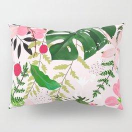pink desert flowers Pillow Sham