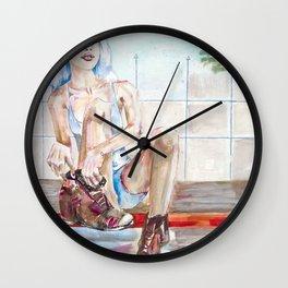 Never Ending Summer Wall Clock