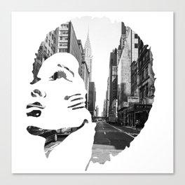 Surimpression Canvas Print